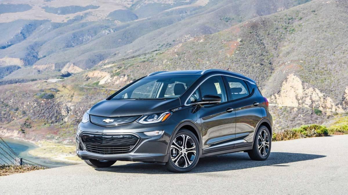6. Chevrolet Bolt EV: 238 miles