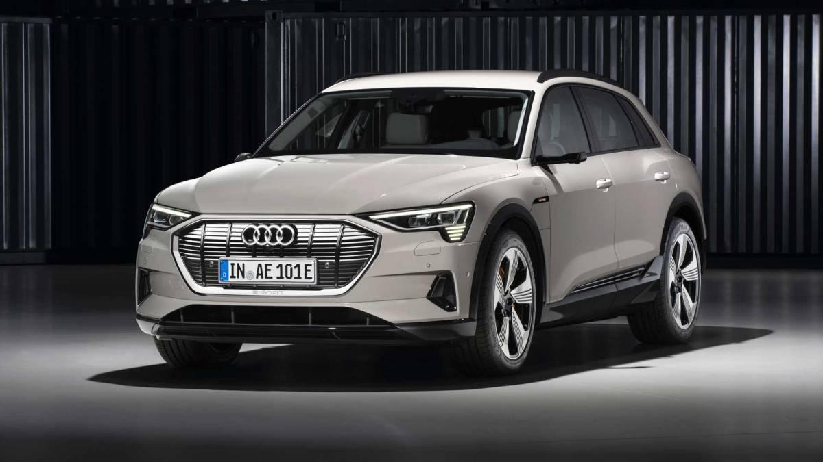 5. Audi e-tron: 248 miles