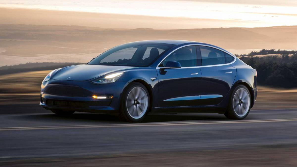 2. Tesla Model 3: 310 miles