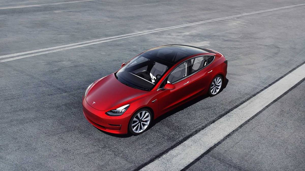 2. Tesla Model 3 (Long Range)