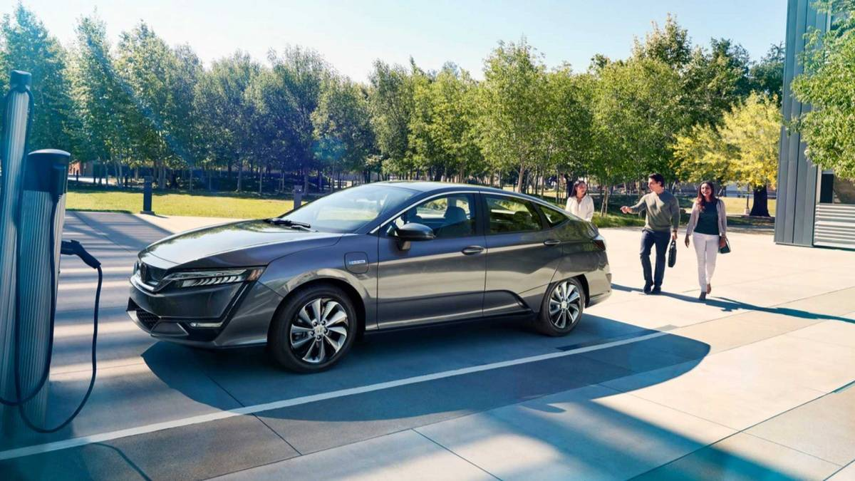 4. Honda Clarity Electric