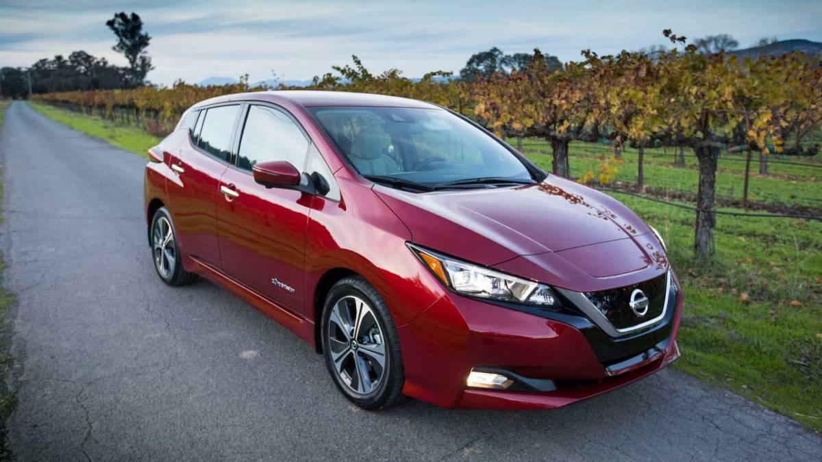 3. Nissan Leaf