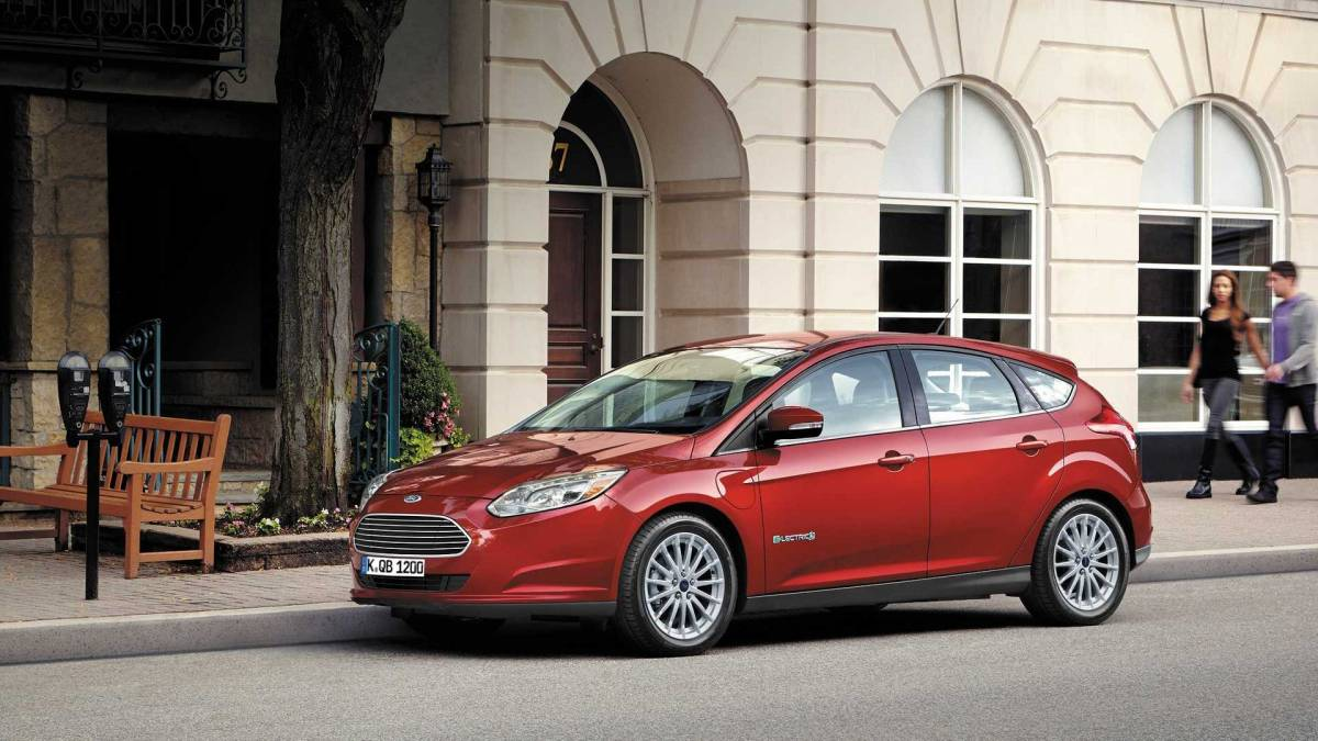 7. Ford Focus Electric