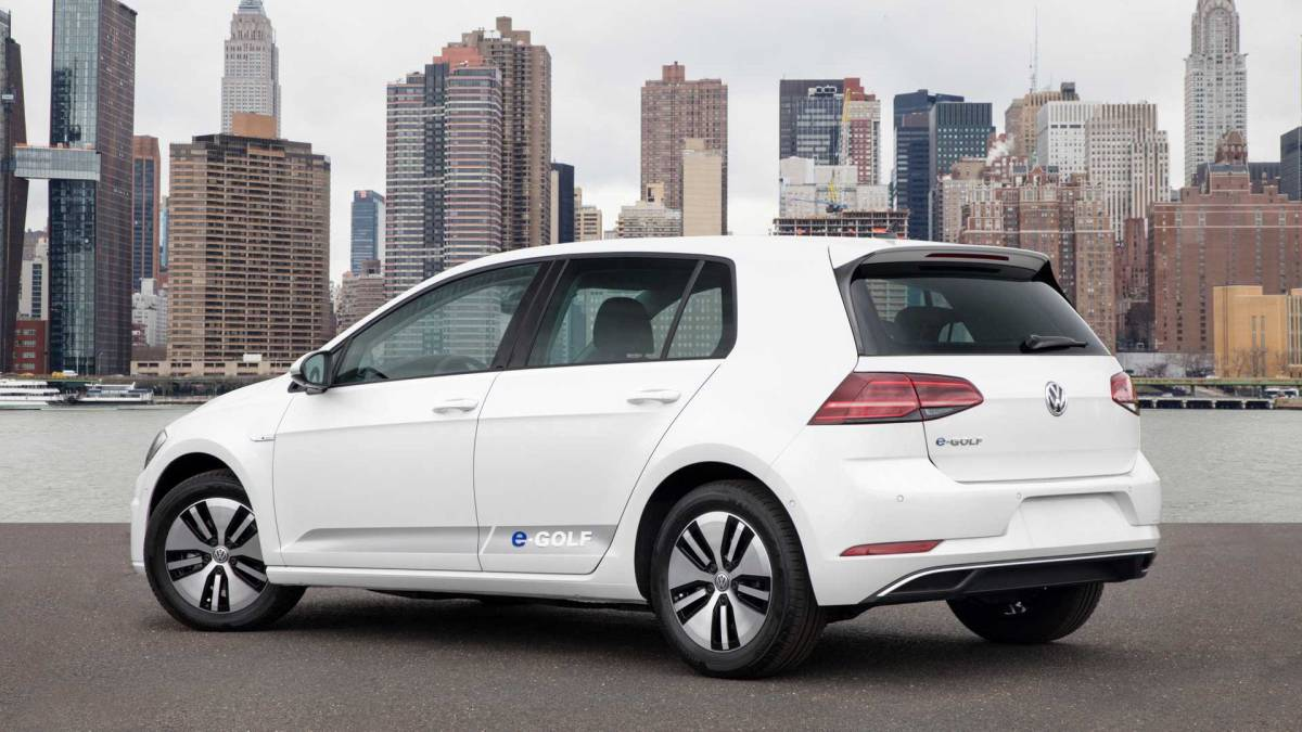 4. Volkswagen e-Golf