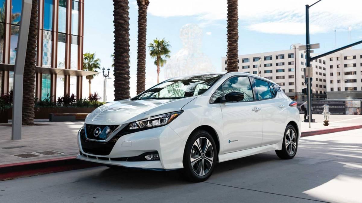 5. Nissan Leaf Plus