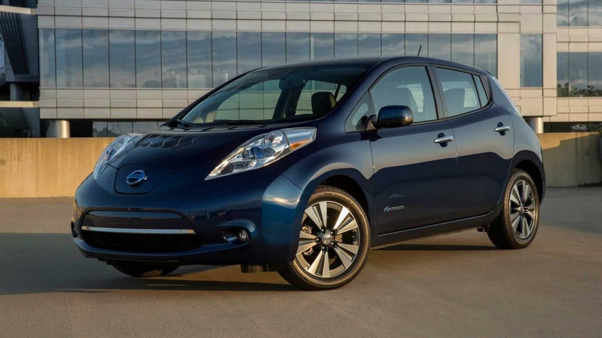 1. Nissan Leaf 2016-2017