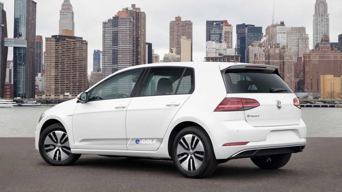 7. Volkswagen e-Golf