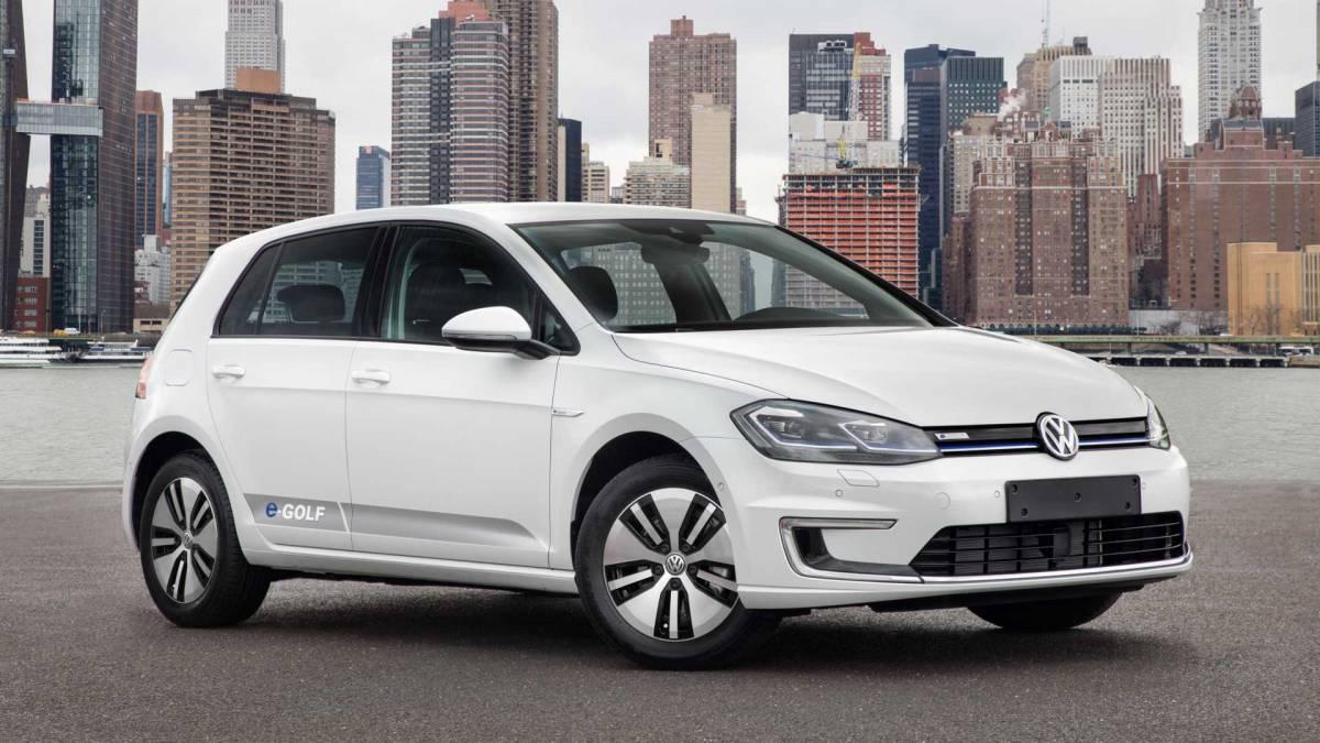 4. Volkswagen e-Golf