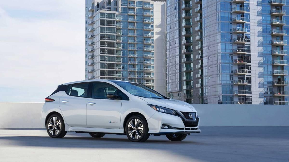 4. Nissan Leaf