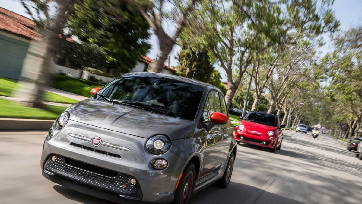 4. 2013-2017 Fiat 500e