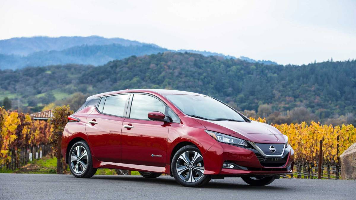 7. Nissan Leaf