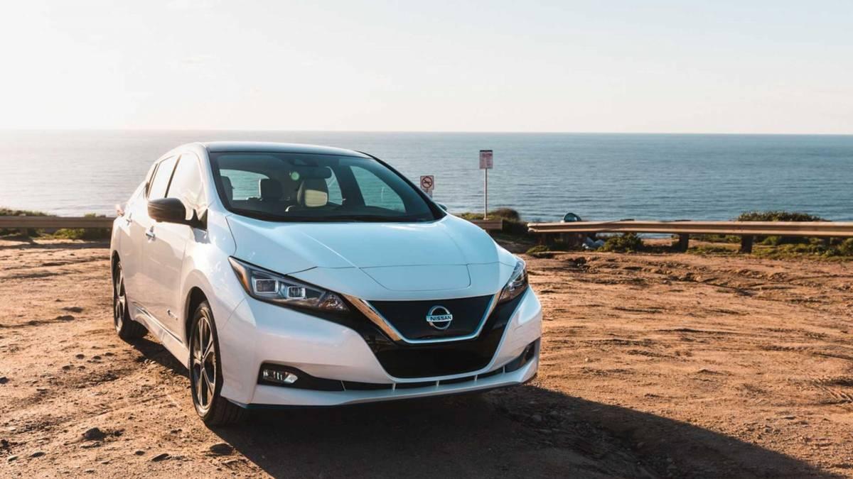 8. Nissan Leaf Plus