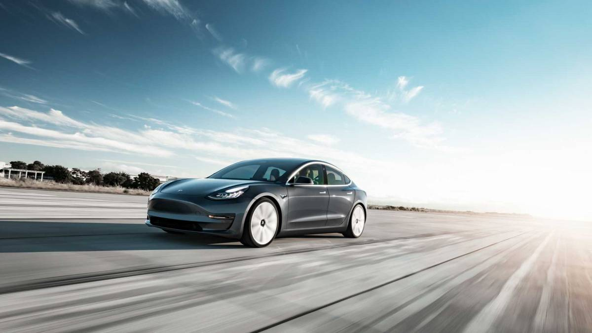 10. Tesla Model 3
