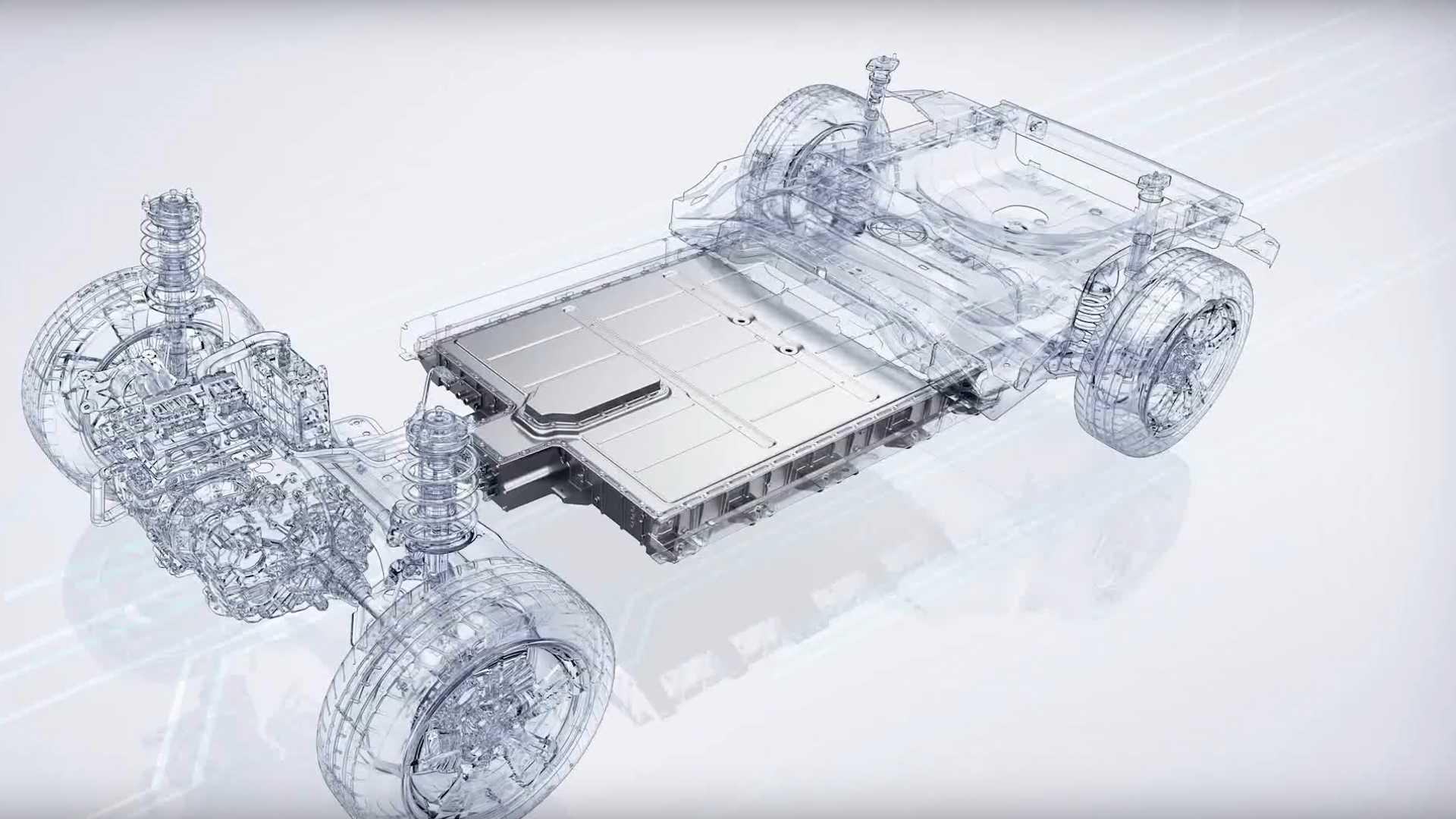 MG ZS EV Electric Car Battery