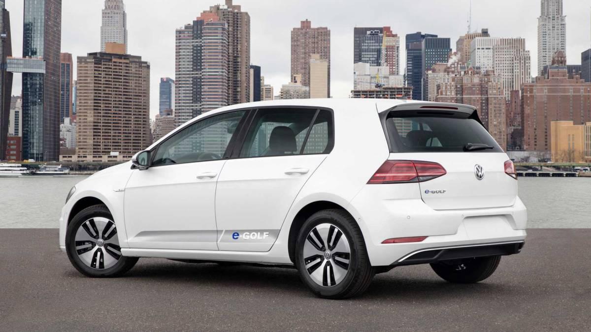 5. 2015-2016 Volkswagen e-Golf