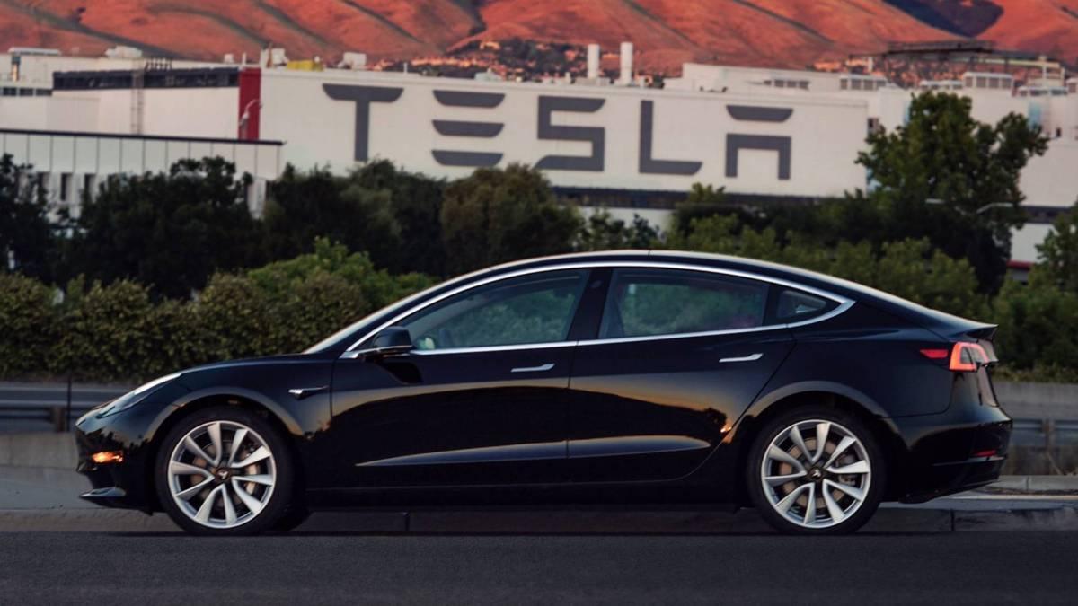 1. Tesla Model S