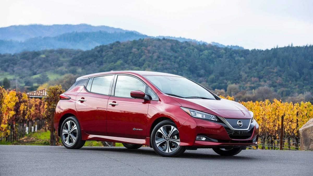 5. Nissan Leaf: 151 miles