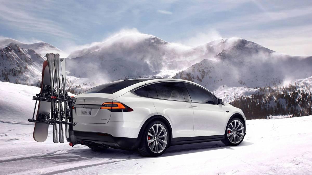 3. Tesla Model X: 289 miles