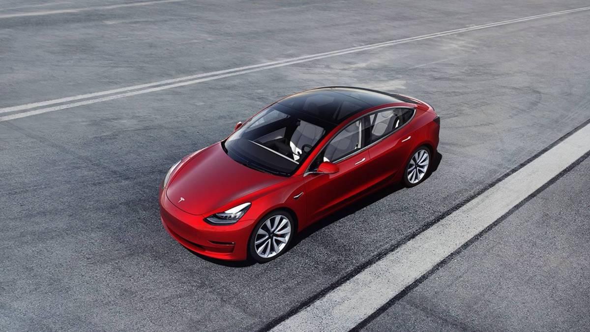 5. Tesla Model 3