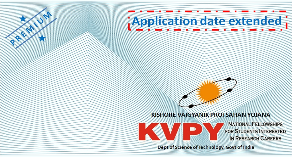 KVPY 2021 Application Date Extended