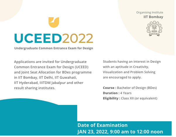 UCEED 2022 Extended Dates