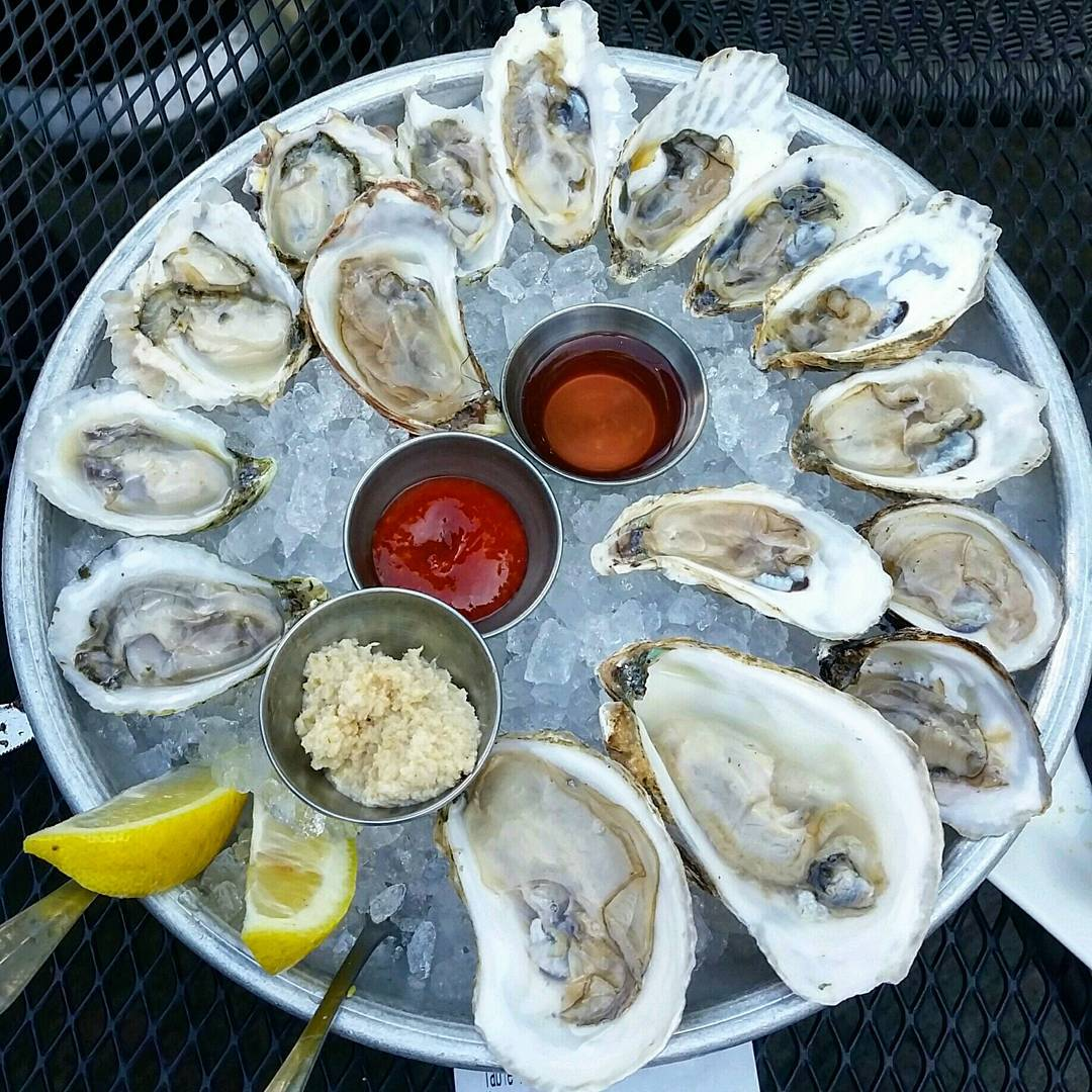 The 25 most instagrammed oyster spots in virginia for Public fish and oyster