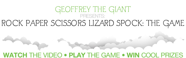 Rock, Paper, Scissors, Lizard, Spock, Music video, win, prizes