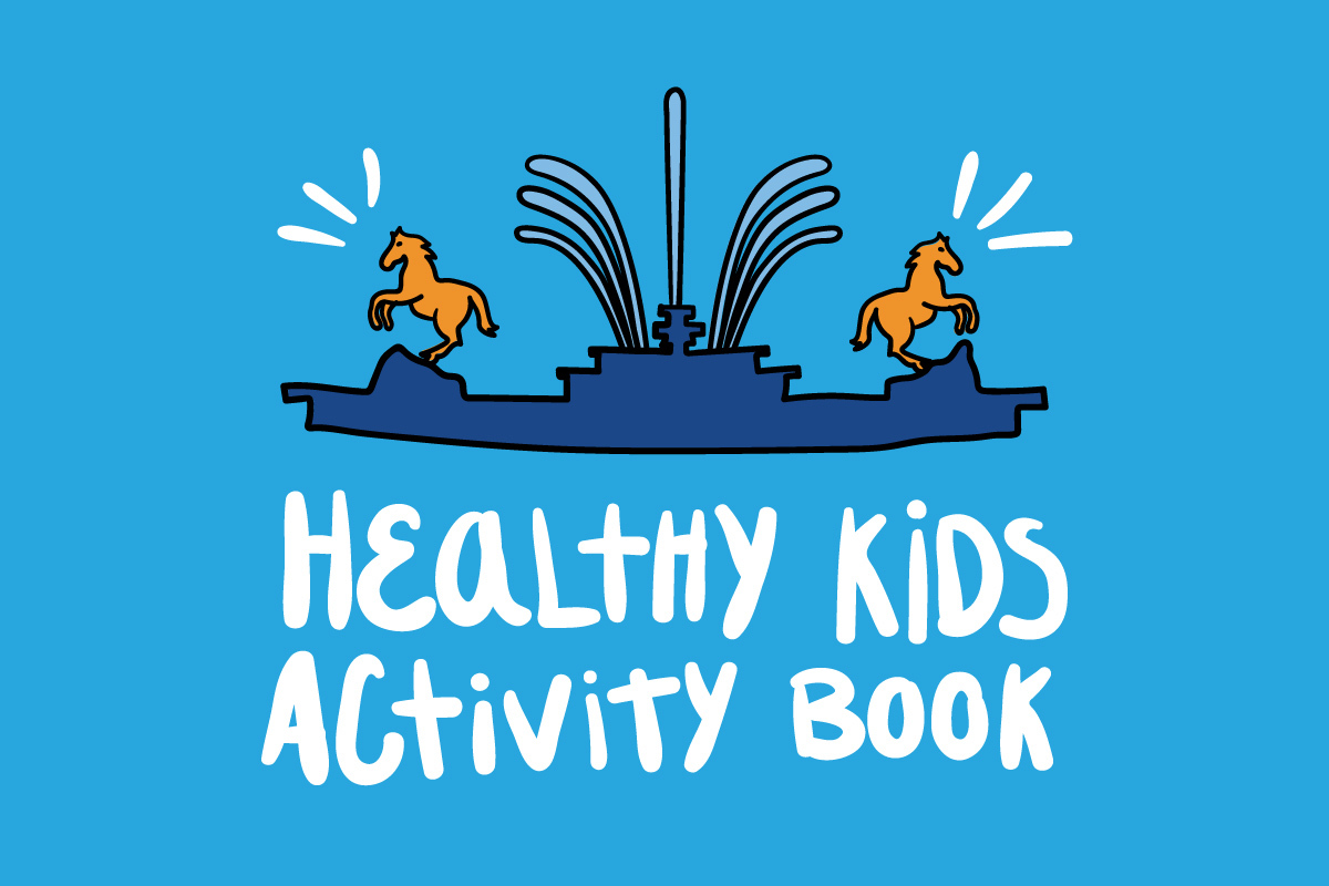 Healthy Kids Activity Book