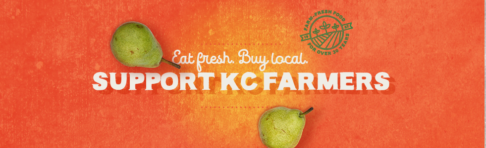 Eat fresh. Buy local. Support KC Farmers