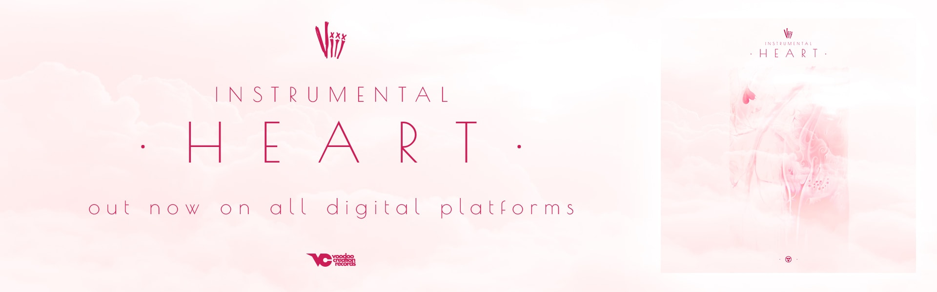 'INSTRUMENTAL HEART' released