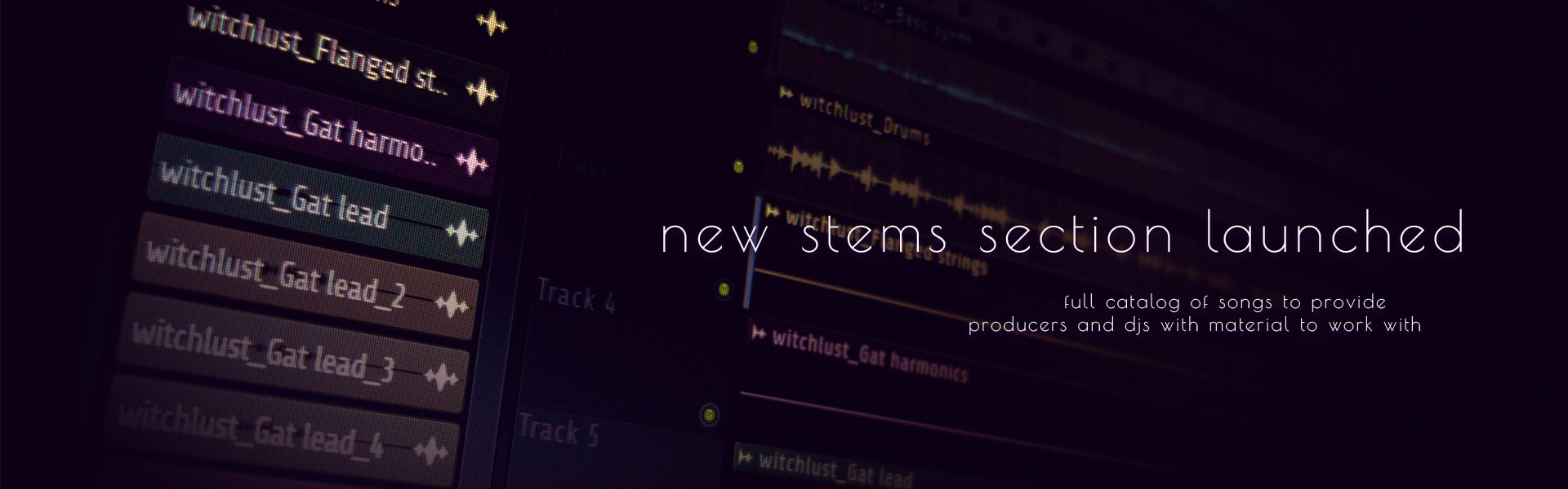 New 'stems' section launched