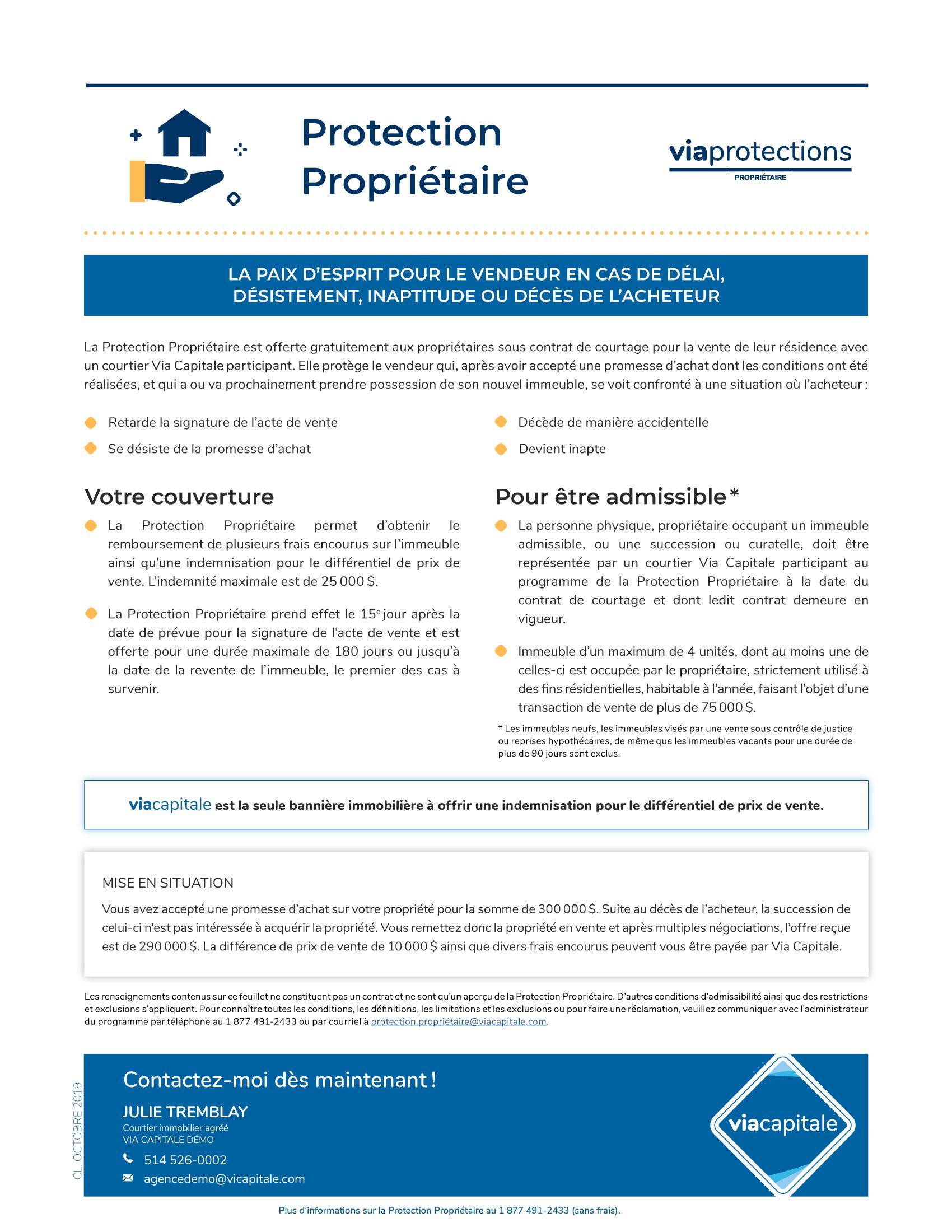 1 | Protections Propriétaire - SANS photo