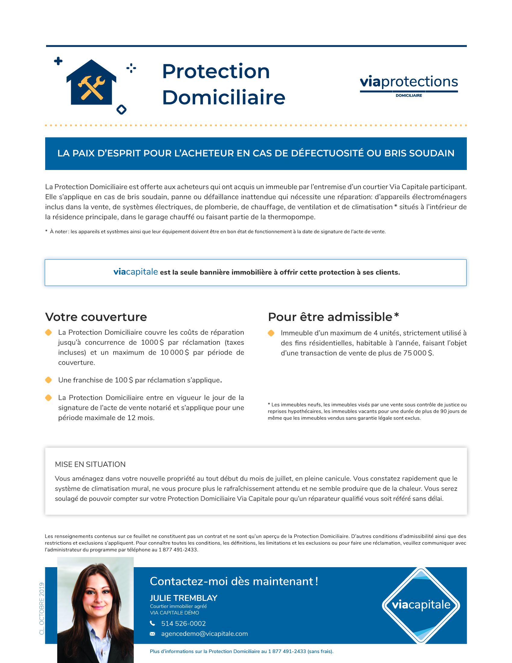 1 | Protections Domiciliaire - AVEC photo