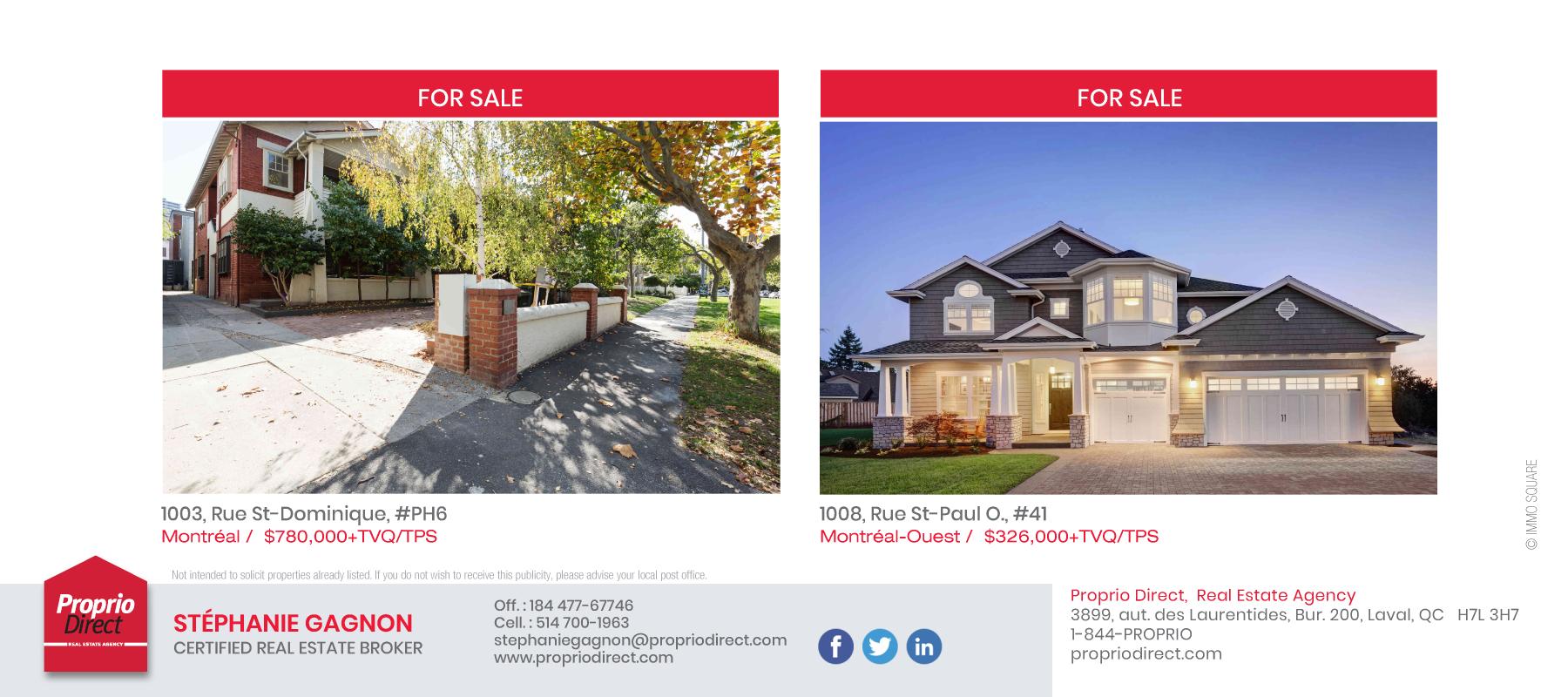 2 | Multi Properties Postcard - Airmiles