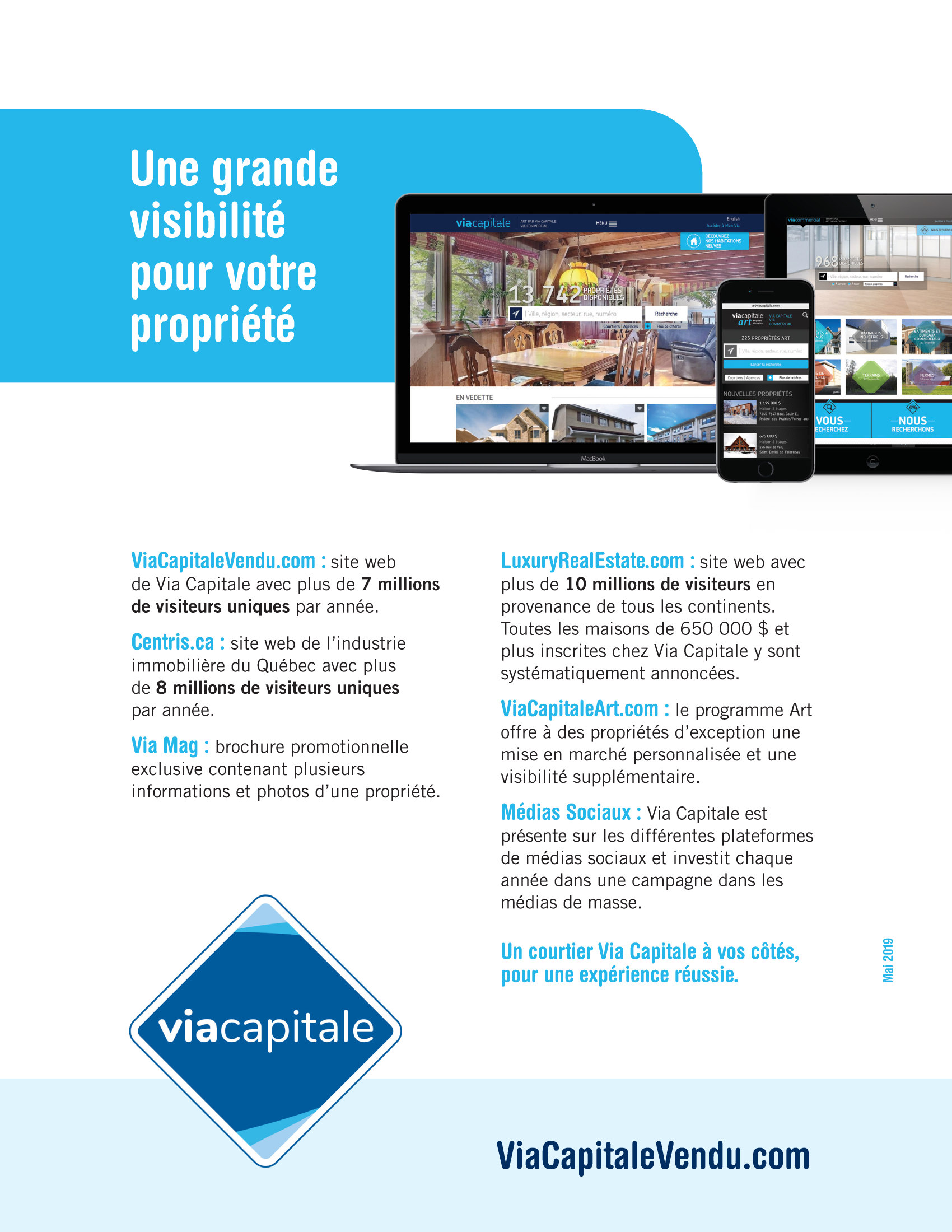 8 | Via Capitale Brochure Vendeur