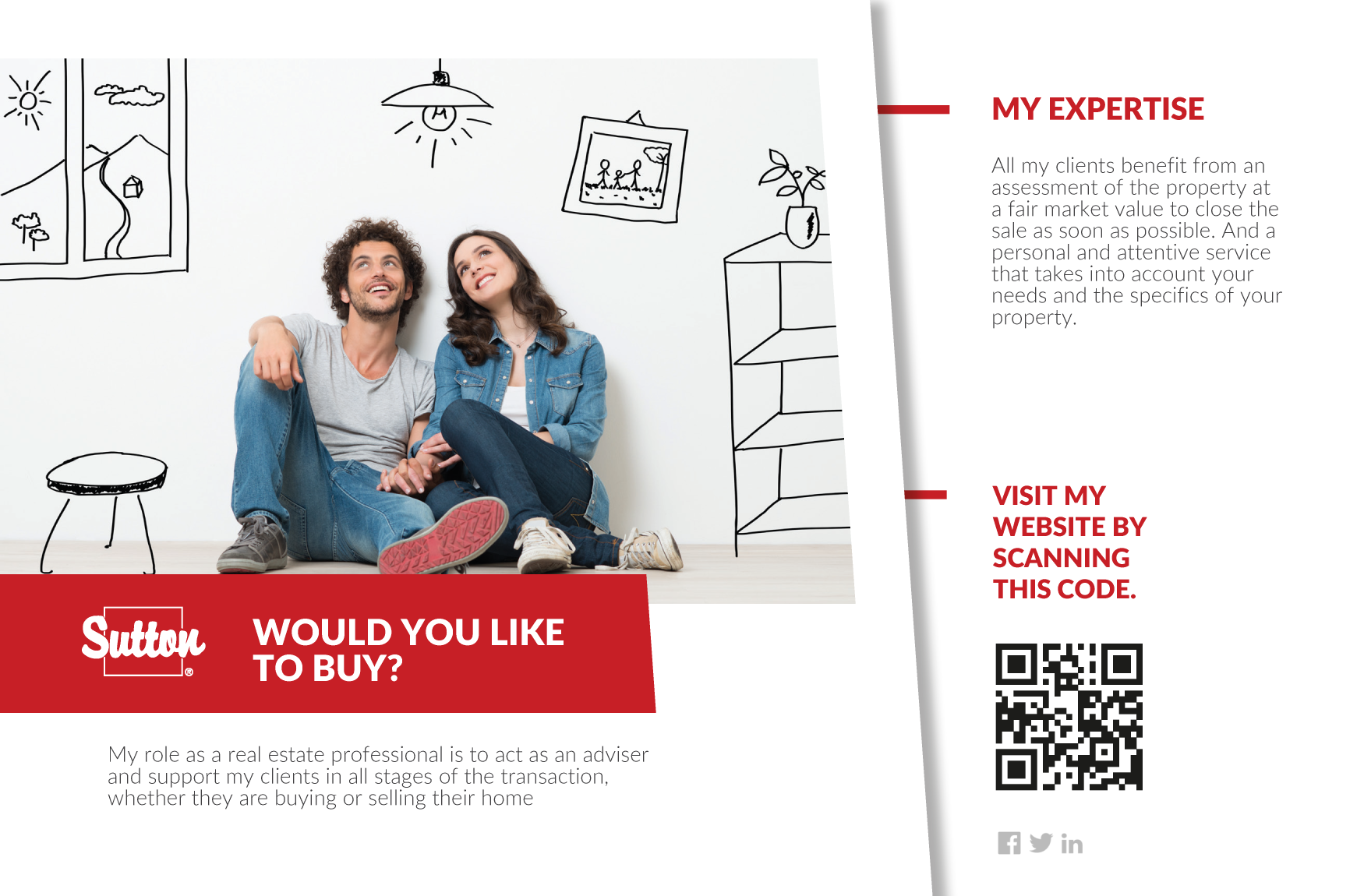 1 | Info-Broker Postcard