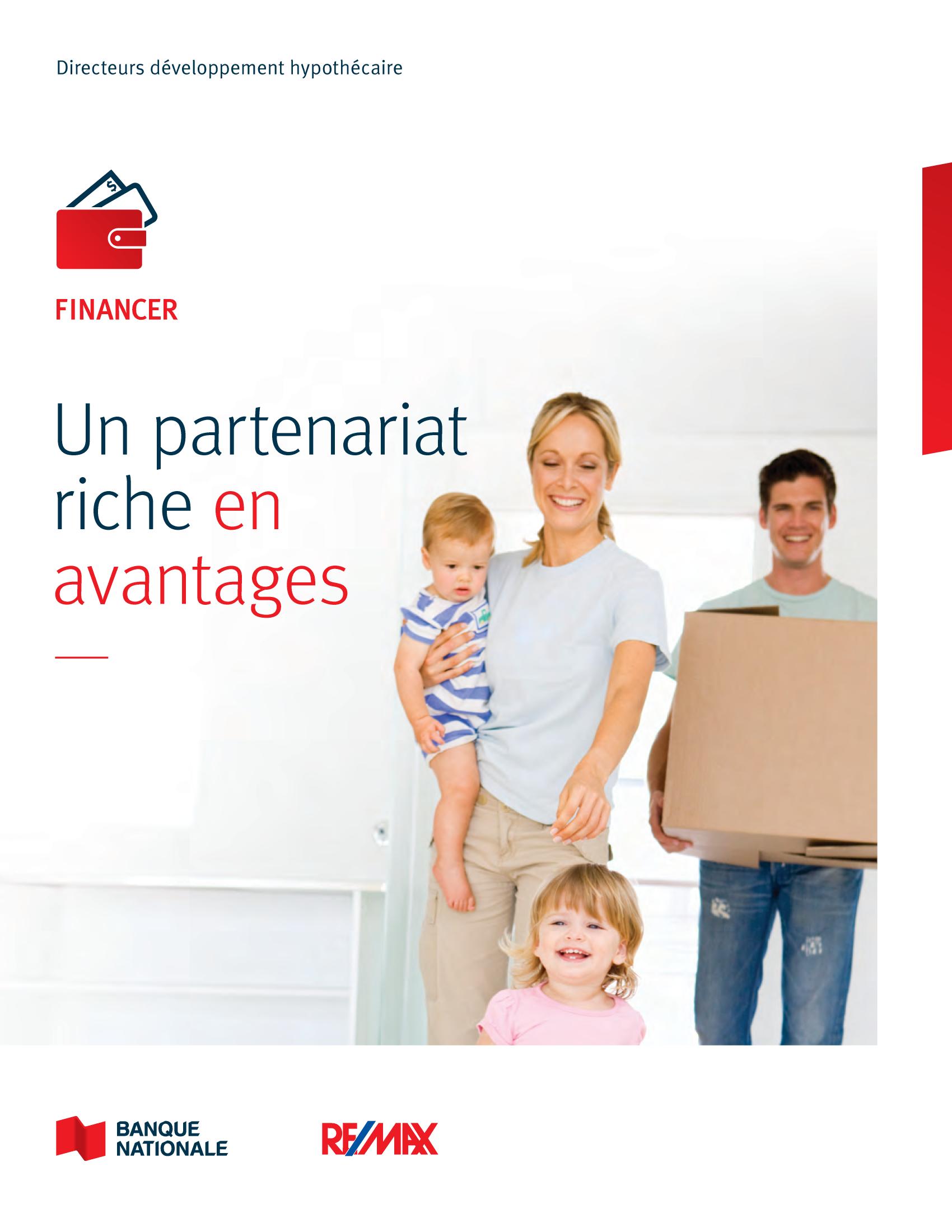 1 | Dépliant « Un partenariat riche en avantages » - RE/MAX