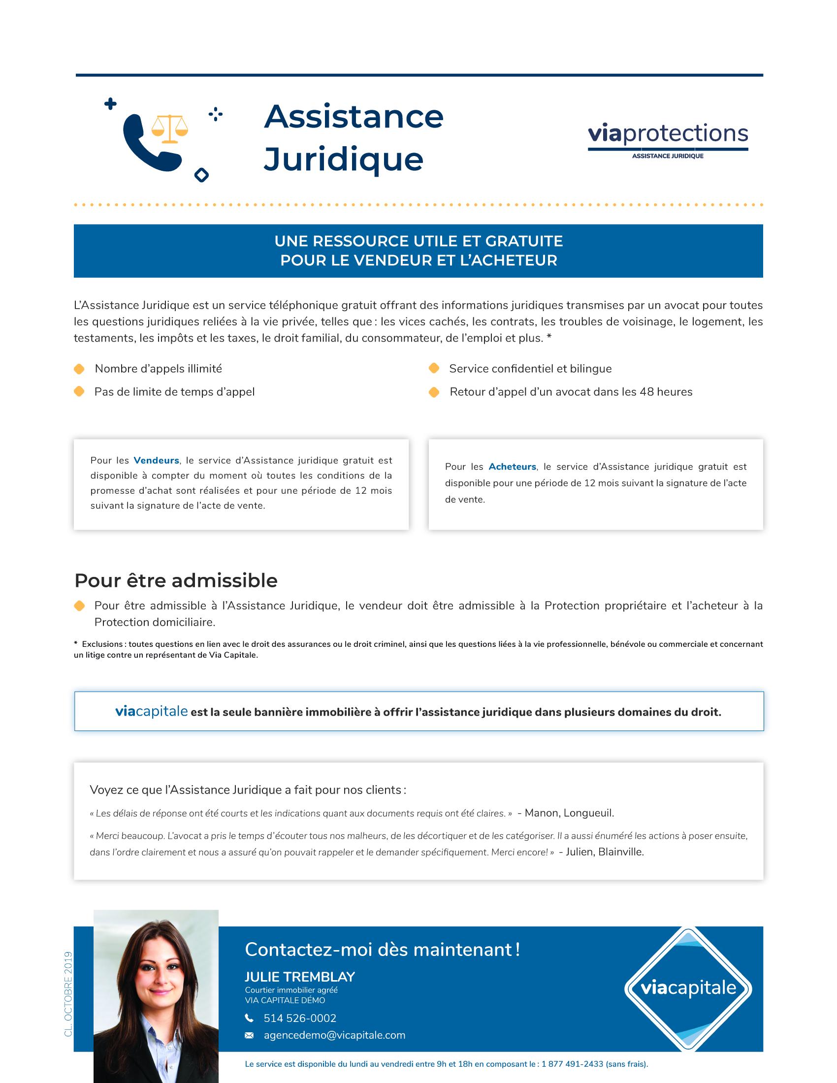 1 | Assistance Juridique - AVEC photo