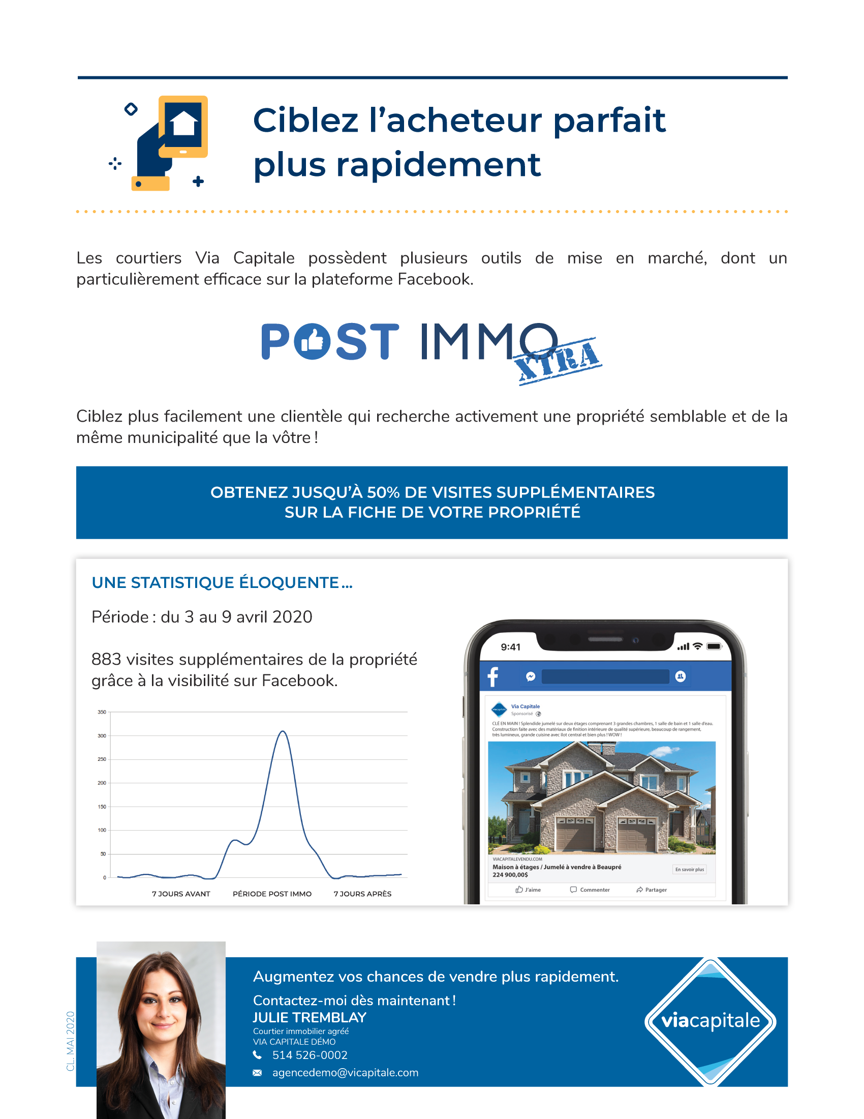 1 | Post Immo Extra Consommateur - AVEC photo