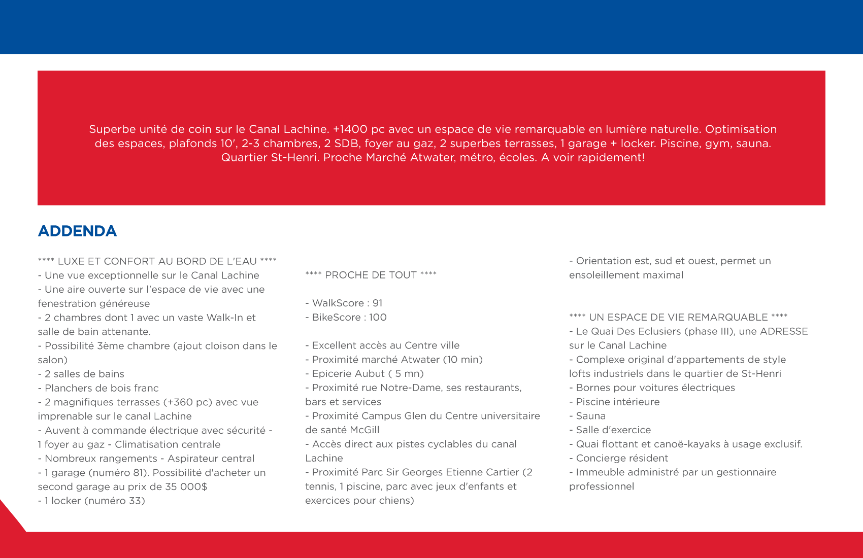 6 | Brochure 8 pages