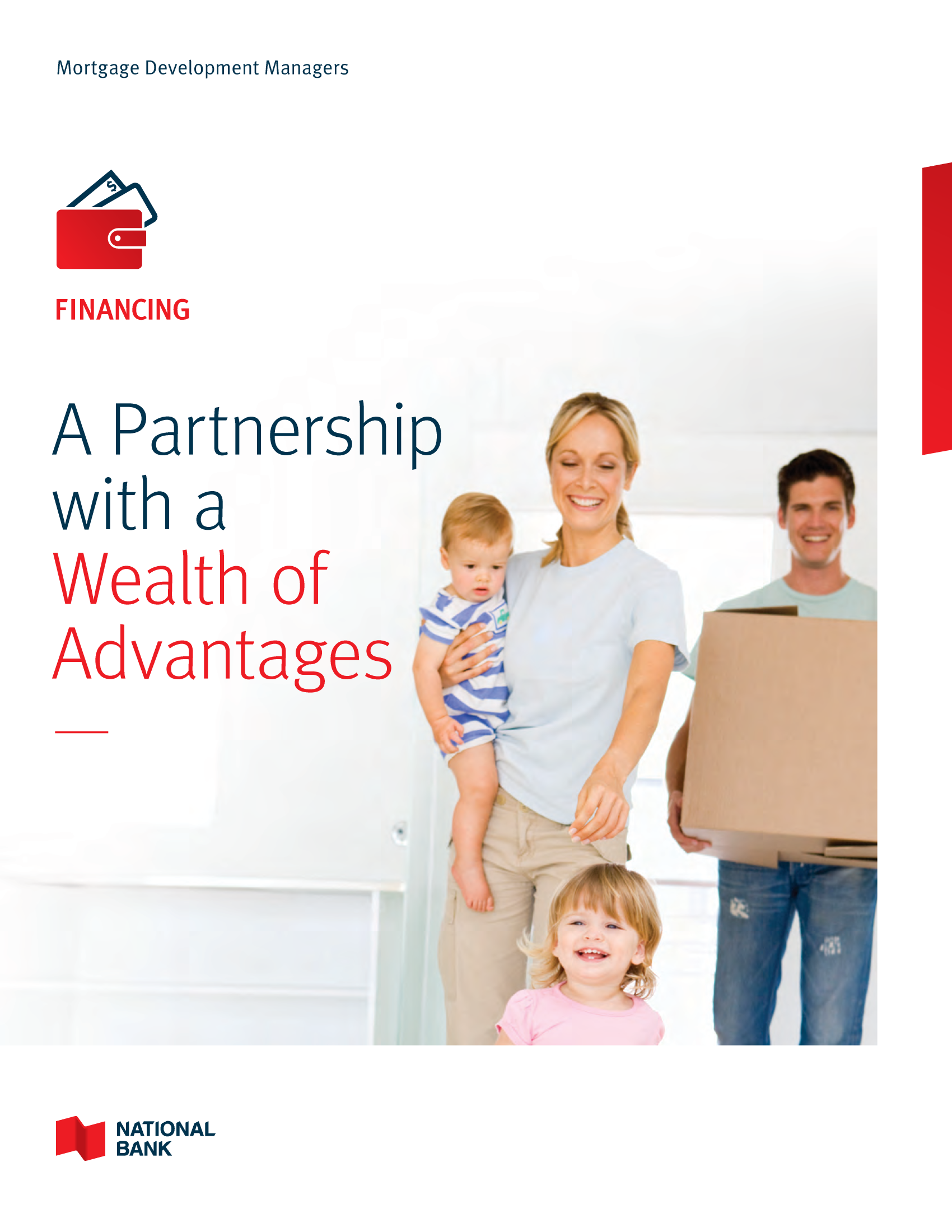 """1   Leaflet """"A Partnership with a Wealth of Advantages"""" - builders and other intermediaries"""