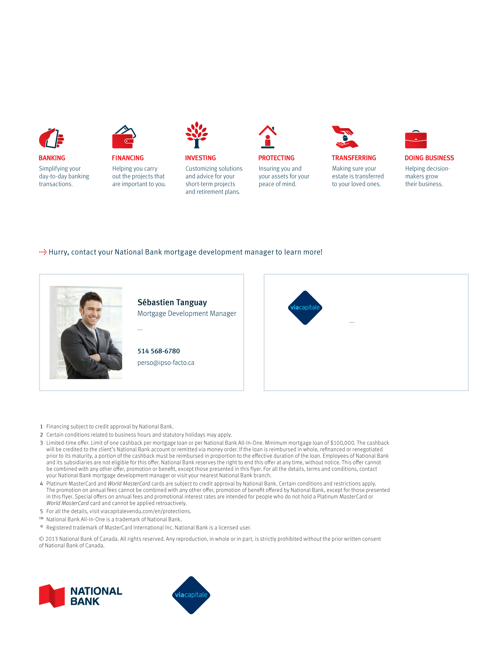 "4 | Leaflet ""A Partnership with a Wealth of Advantages"" - Via Capitale"
