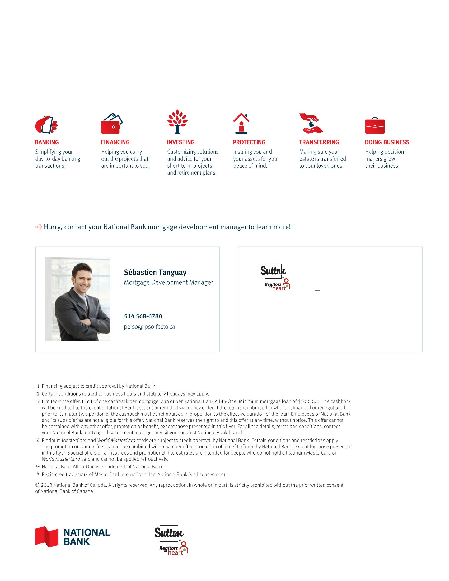 "4   Leaflet ""A Partnership with a Wealth of Advantages"" - Sutton"