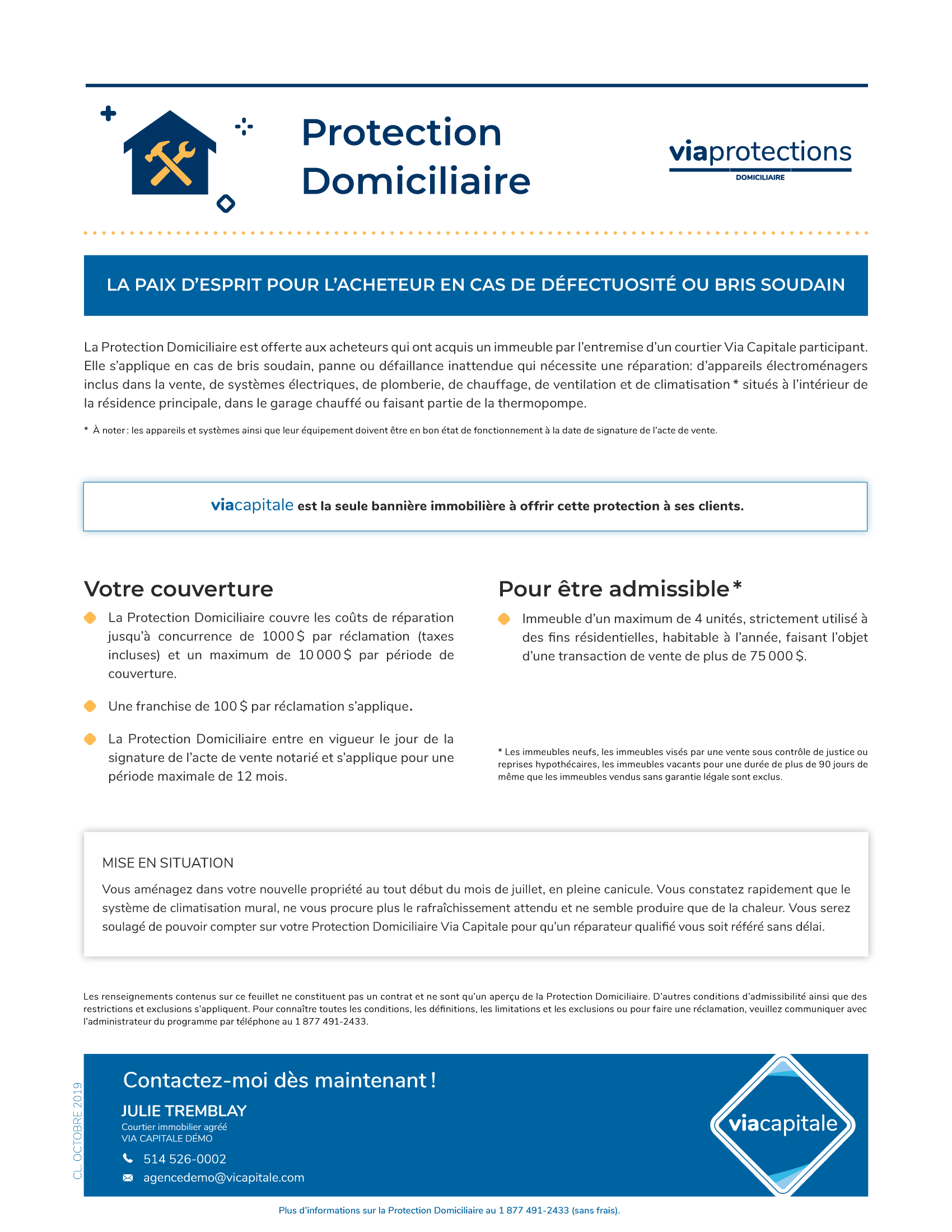 1 | Protections Domiciliaire - SANS photo