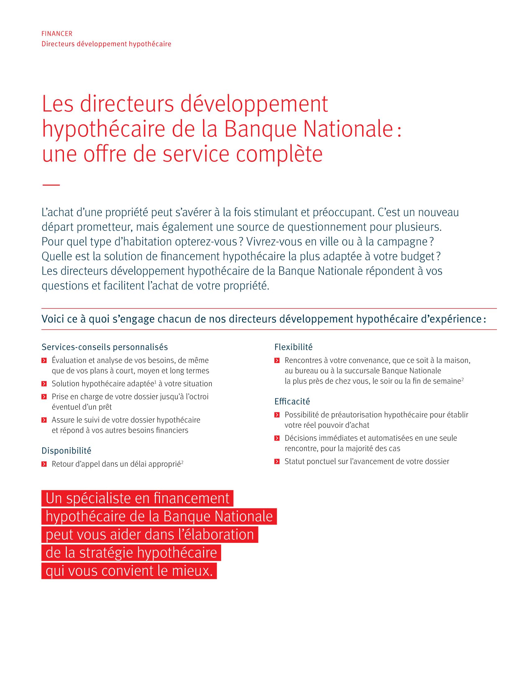 2 | Dépliant « Un partenariat riche en avantages » - Constructeur