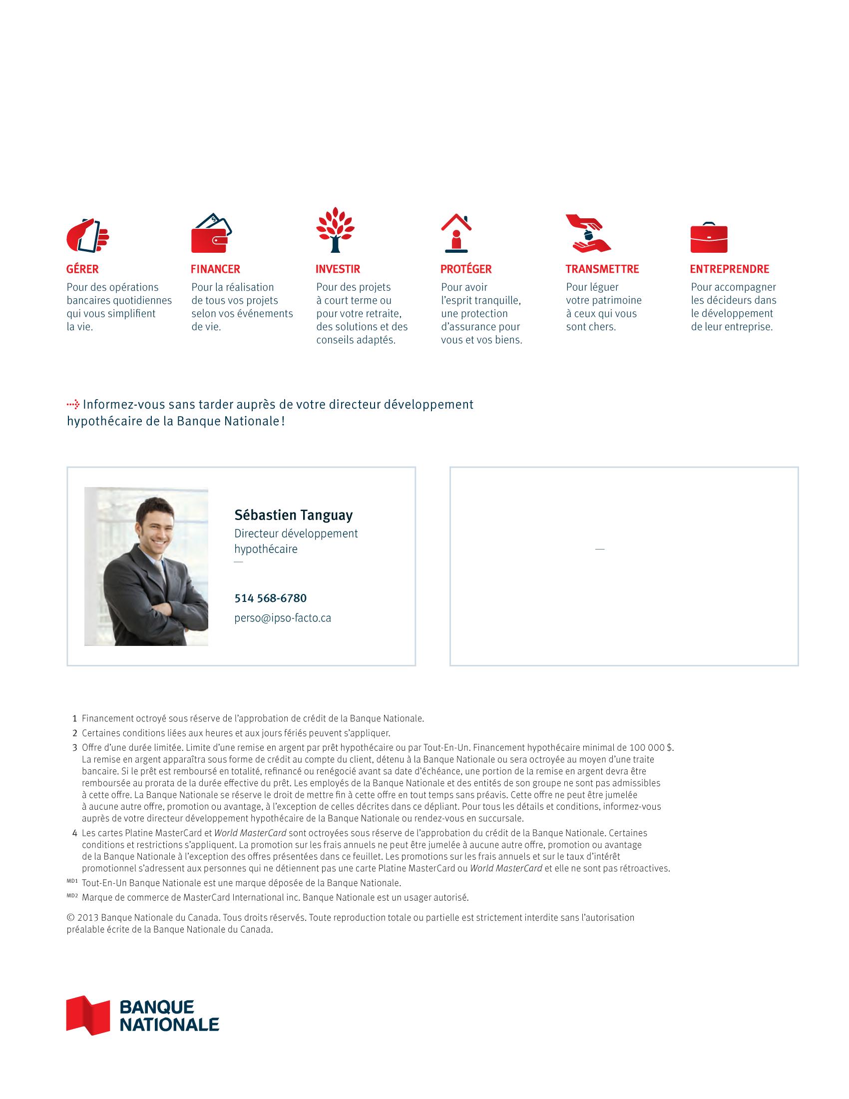 4 | Dépliant « Un partenariat riche en avantages » - Constructeur