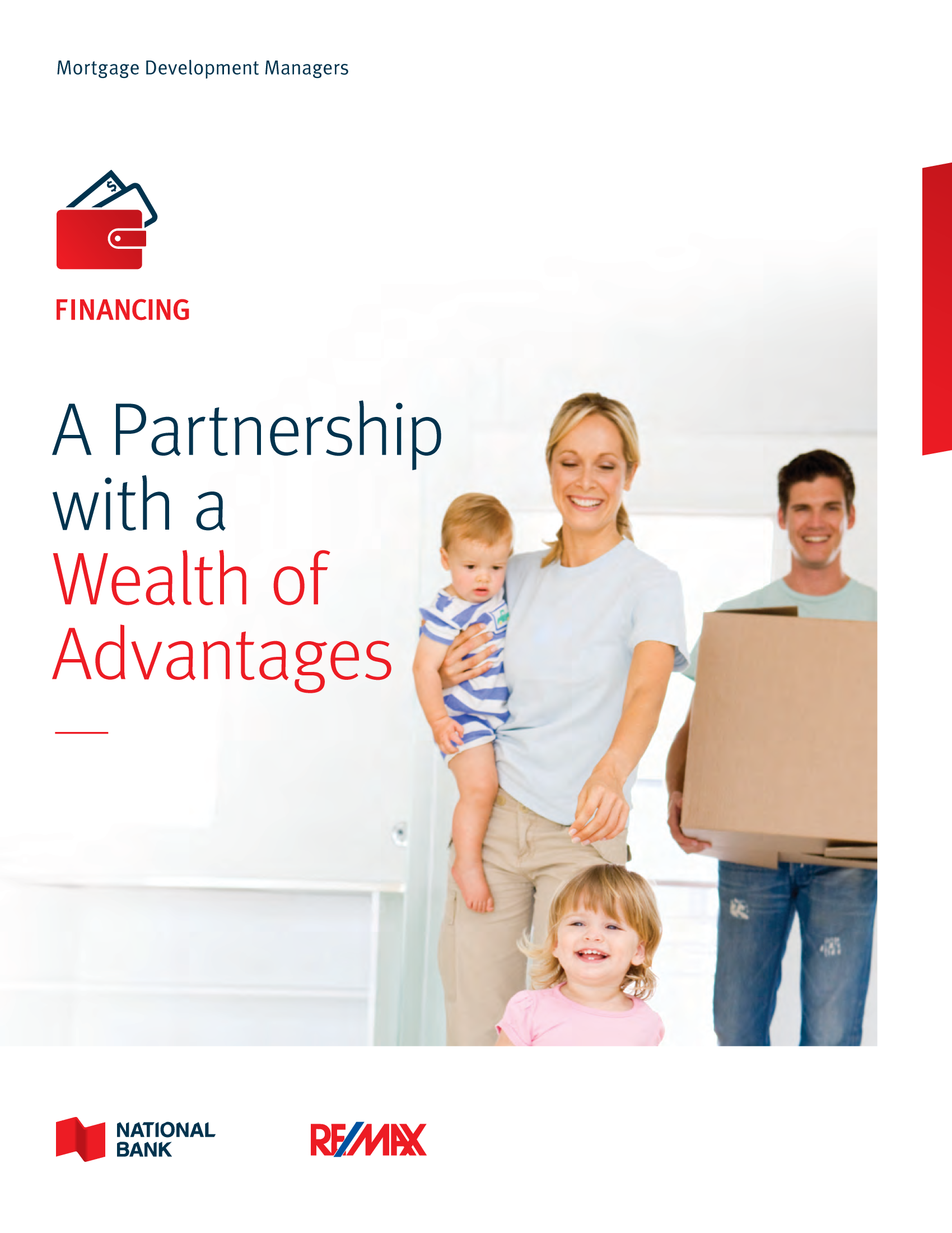"""1   Leaflet """"A Partnership with a Wealth of Advantages"""" - RE/MAX"""