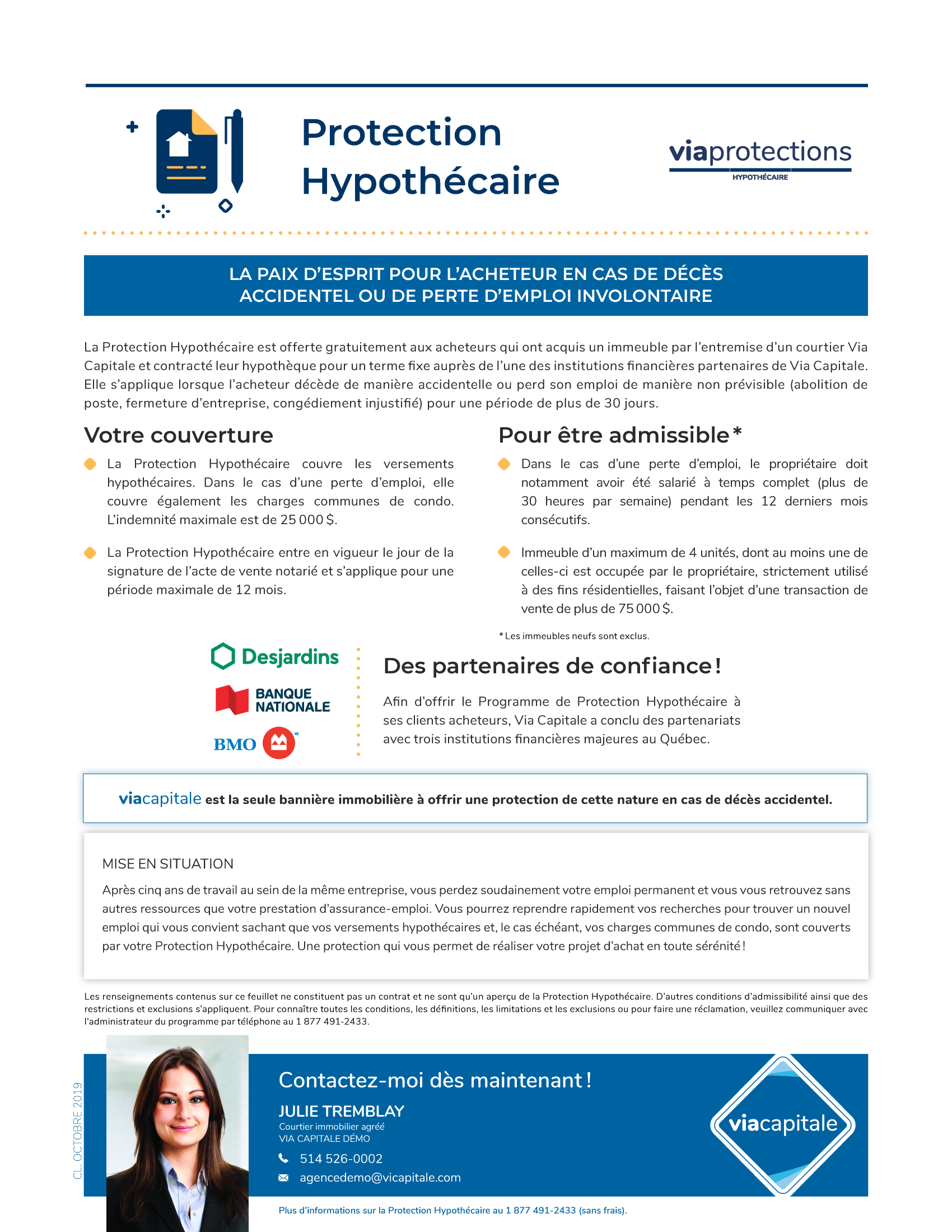 1 | Protections Hypotecaire - AVEC photo