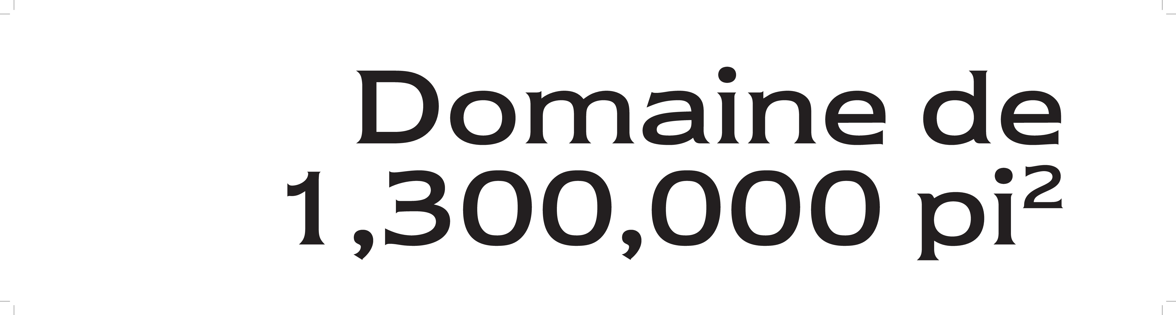 1 | Domaine 1 300 00 Pi2
