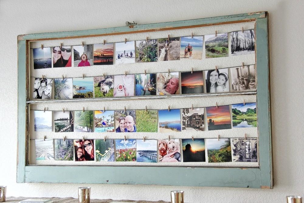 DIY Instagram Photo Frame Project